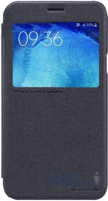 Чехол Nillkin Sparkle Leather Series Samsung J700 Galaxy J7 Black