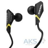 Наушники (гарнитура) Monster Diesel VEKTR In-Ear Headphones ControlTalk Universal Black (MNS-129556-00)