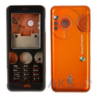 Корпус Sony Ericsson W610 Orange − купити в Києві та Україні 0c6102ee78807