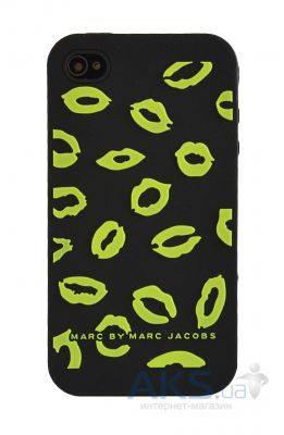 Чехол Marc Jacobs Lips iPhone 4/4S Green