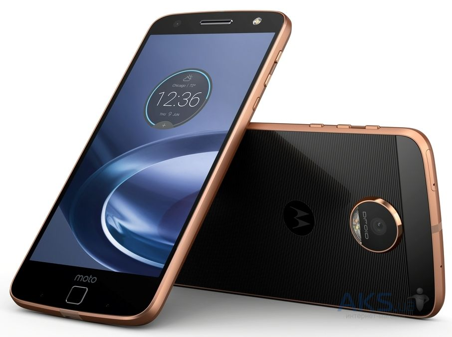 Мобильный телефон Motorola Moto Z Force 32GB Black/Gold