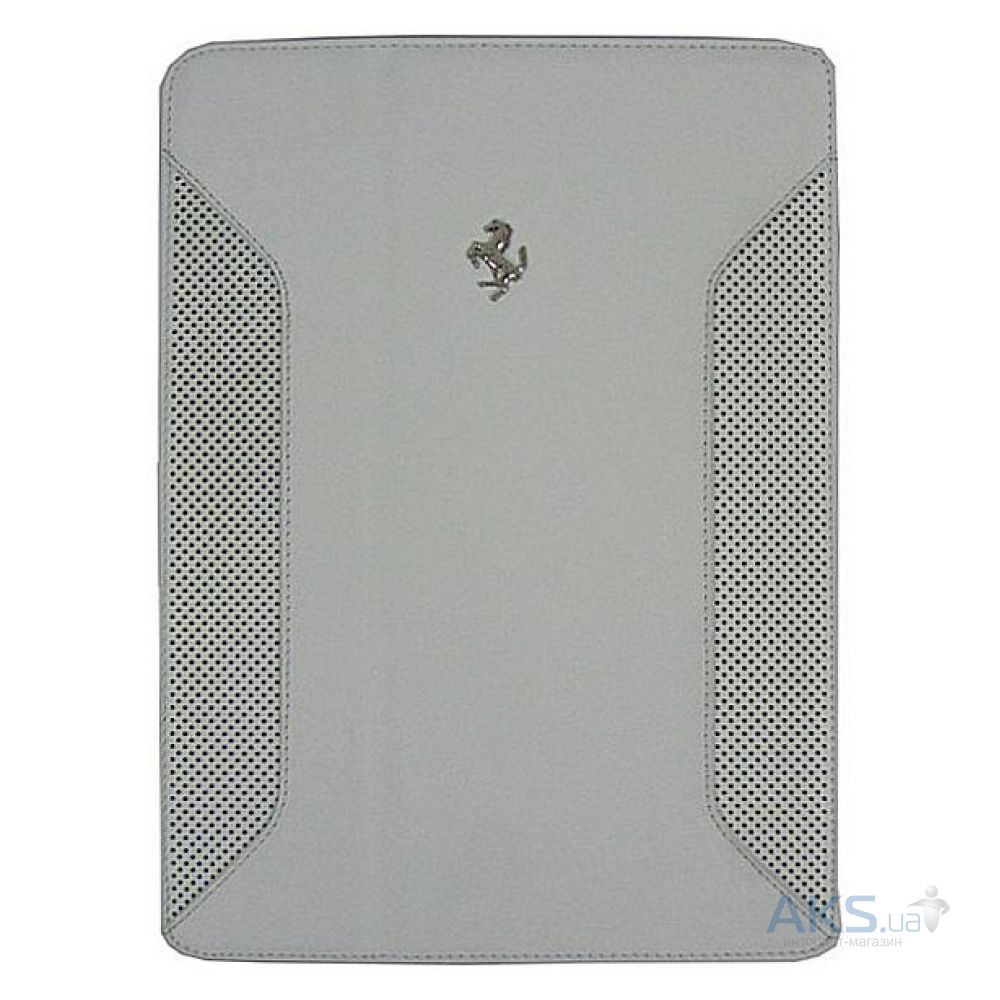 Чехол для планшета Ferrari Ferrari F12 leather flip case for iPad Air White [FEF12FCD5WH]