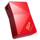 Вид 2 - Флешка Silicon Power 16Gb Jewel J08 Red USB 3.0 (SP016GBUF3J08V1R)
