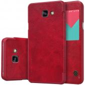 Чехол Nillkin Qin Leather Series Samsung A510 Galaxy A5 2016 Red