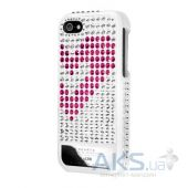 Чехол Lucien Elements Hearts Exclusive Selections Rose/White for iPhone 5/5S White