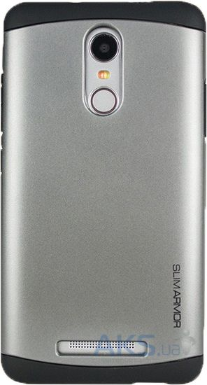 Чехол SGP Slim Armor Series Xiaomi Redmi Note 3, Redmi Note 3 Pro Gray