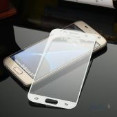 Вид 5 - Защитное стекло Tempered Glass 3D Full Cover Samsung G930 Galaxy S7 White