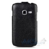 Вид 4 - Чехол Melkco Jacka leather case for Samsung S6802 Galaxy Ace DuoS Black (SS6802LCJT1BKLC)