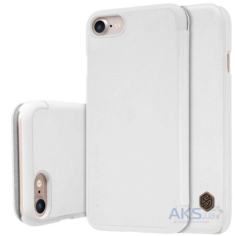 Чехол Nillkin Qin Leather Series Apple iPhone 7 White