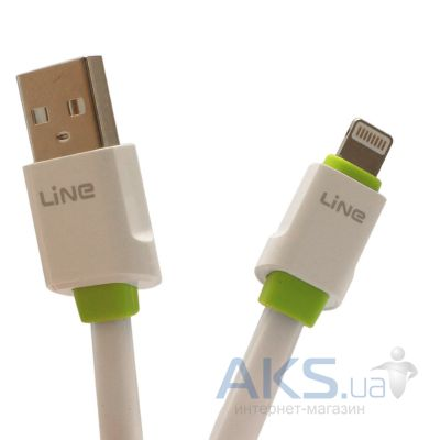 Кабель USB LDNio XS-03 iPhone 5,6 White