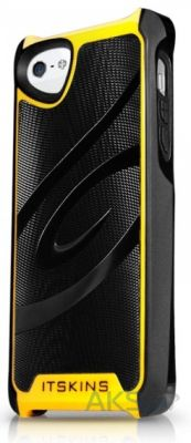 Чехол ITSkins Fusion Alu Core for iPhone 5/5S Yellow (APH5-FUSAL-YELW)