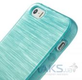 Вид 3 - Чехол Original TPU Pearl Lines Apple iPhone 5, iPhone 5S, iPhone 5SE Turquoise