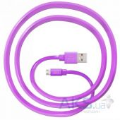 Вид 2 - Кабель USB JUST Freedom Micro USB Cable Pink (MCR-FRDM-PNK)