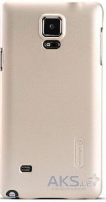 Чехол Nillkin Super Frosted Shield Samsung N910 Galaxy Note 4 Gold