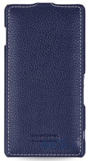 Чехол TETDED Leather flip case Sony Xperia Z3 D6603 Blue