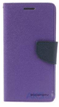 Чехол Mercury Fancy Diary Samsung G7102 Galaxy Grand 2 Duos Violet - Blue