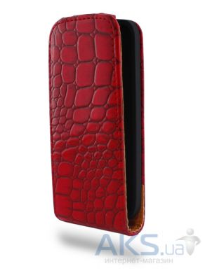 Чехол Atlanta Book case for Samsung S5312 Red (K33)