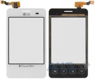 Сенсор (тачскрин) для LG Optimus L3 Dual E405 Original White