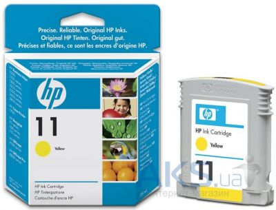 Картридж HP DJ No. 11 (C4838A) Yellow