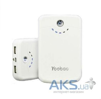Внешний аккумулятор Yoobao Power Bank 11200 mAh Long March YB-642, [PBYB642] White