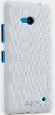 Чехол Nillkin Super Frosted Shield Microsoft Lumia 640 White