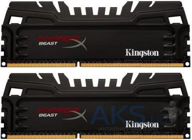 Оперативная память Kingston DDR3 8GB (2x4GB) 1866 MHz Beast (HX318C9T3K2/8)