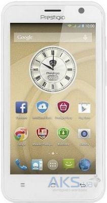 Сенсор (тачскрин) для Prestigio MultiPhone 3450 Duo Original White