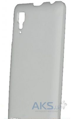 Чехол GlobalCase Policarbonat Case for Lenovo IdeaPhone P780 White