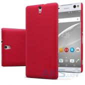 Вид 2 - Чехол Nillkin Super Frosted Shield Sony Xperia C5 E5533 Red
