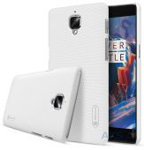 Чехол Nillkin Super Frosted Shield OnePlus 3 White