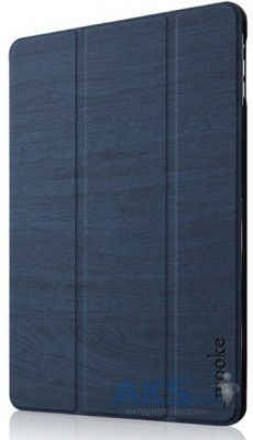 Чехол для планшета Mooke Mock Wooden Case Apple iPad Air Dark Blue