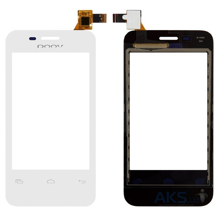 Сенсор (тачскрин) для Prestigio MultiPhone 3500 Duo Original White