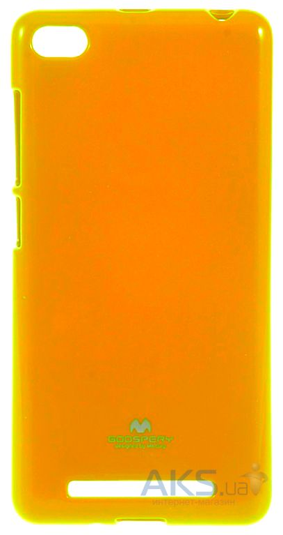 Чехол Mercury Jelly Color Series Xiaomi Redmi 3 Yellow