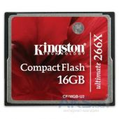 Вид 2 - Карта памяти Kingston Compact Flash Card 16GB 266x (CF/16GB-U2)