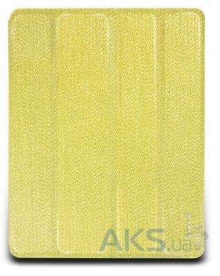 Чехол для планшета NavJack Lurex series Glitter Folio case for iPad 3 Shiny Gold (J012-87)