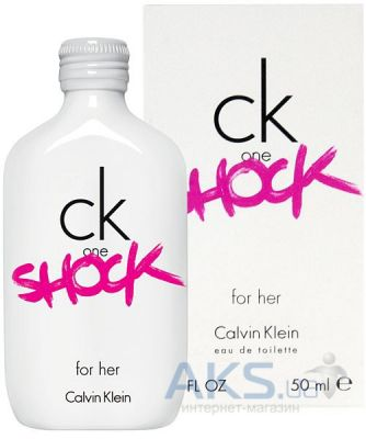 Calvin Klein One Shock for Her Туалетная вода 50 мл