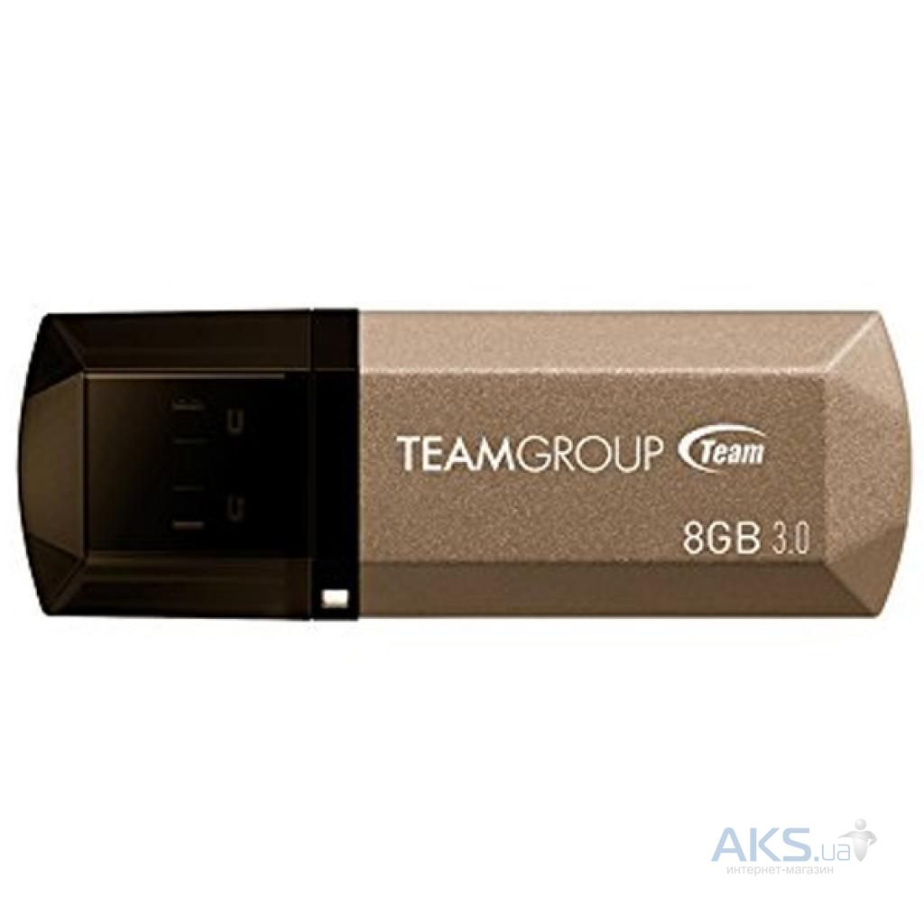 Флешка Team 8GB C155 Golden USB 3.0 (TC15538GD01)