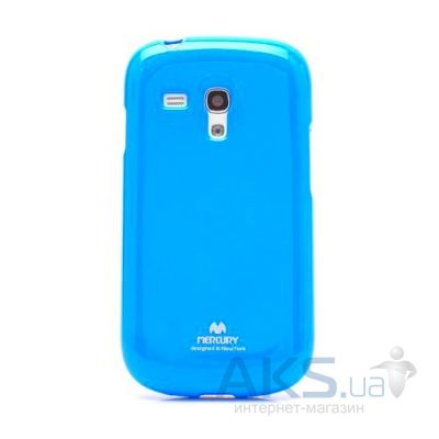 Чехол Mercury Jelly Color Series Samsung G920 Galaxy S6 Blue