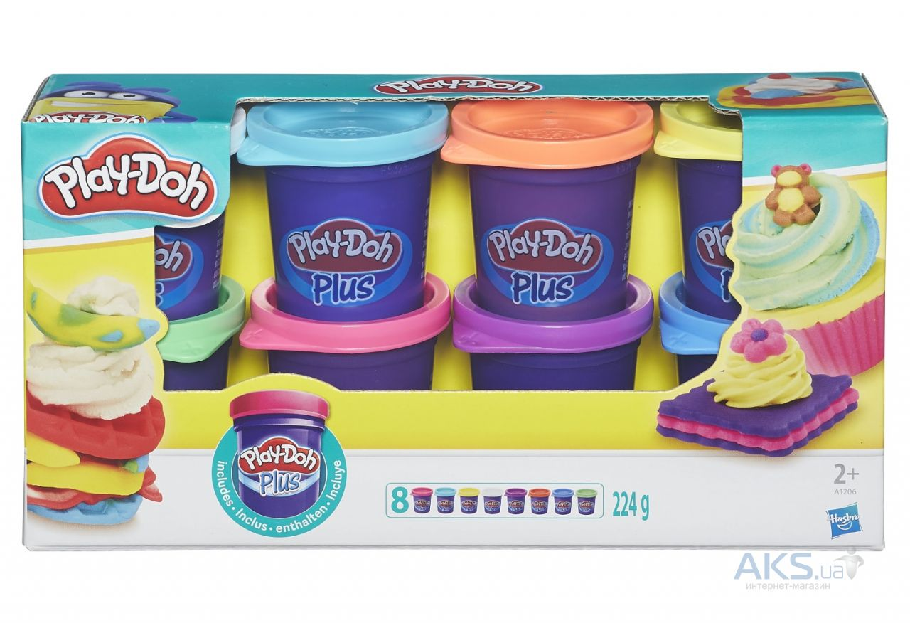 Игра Hasbro Play-Doh Plus Набор пластилина (A1206)