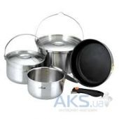 Вид 2 - Набор посуды Kovea All-3PLY Stainles Cookware (8806372095796)