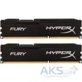 Оперативная память Kingston DDR3 8GB 1600 MHz LoFury Black (HX316LC10FB/8)