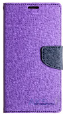 Чехол Mercury Fancy Diary Samsung N920 Galaxy Note 5 Violet