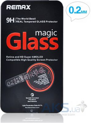 Защитное стекло Remax Tempered Glass Clear для Apple iPhone 5S/5/5C Round Edge 0.2mm 9H