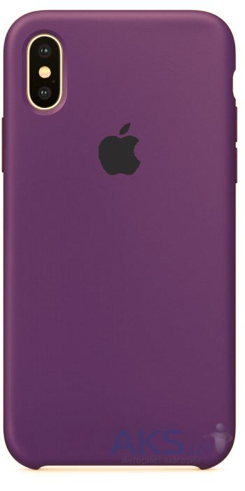 Чехол Apple Silicone Case iPhone XR Purple (HC)