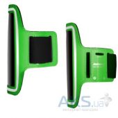 "Вид 3 - Чехол Jabees Sports Armband Pouch ARM 6 Green 5.2""-5.5"""