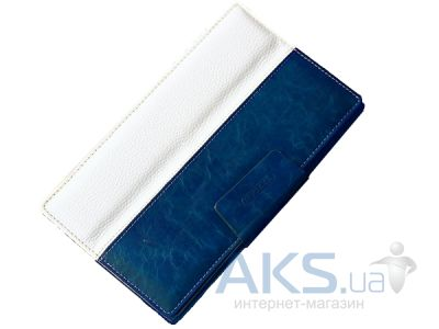 Чехол для планшета TETDED Leather case для Google Nexus 7 New Blueberry/White