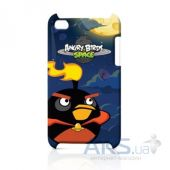 Чехoл Angry Birds Protective Case Space Fire Bomber for iPod touch 4G