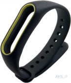Xiaomi Mi Band 2 ремешок Special Black with Yellow line