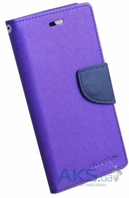 Чехол Mercury Fancy Diary Series Samsung A700 Galaxy A7 Violet - Blue