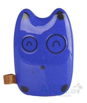 Внешний аккумулятор power bank TOTORO 2 Cute Power Bank 8000mAh Blue